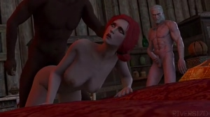 Triss getting fucked