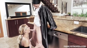 Kenzie Taylor - Cap And Gown Dick Down [Family Strokes