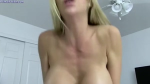 Busty MILF Bouncing on Top