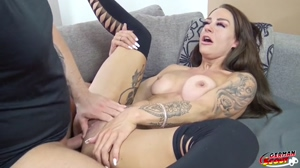 GERMAN SCOUT - INSTAGRAM FITNESS ABS TEEN MODEL FUCK AT PICKUP CASTING