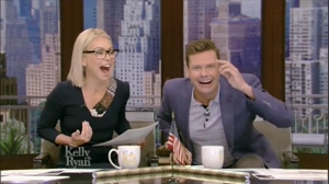 Kelly Ripa has the perfect mouth and face to fuck and leave covered in cum
