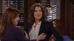 Who's luckier? Alyson Hannigan feeling up Cobie Smulders or Cobie Smulders getting felt up by Alyson Hannigan?