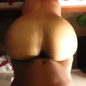 Pounding her thick ass