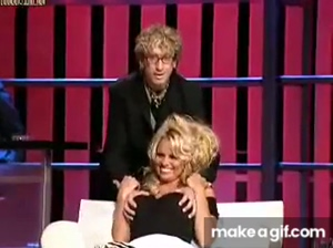 Pamela Anderson roast, loving being felt up