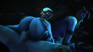 Sylvanas fucked and spanked