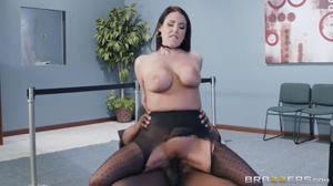 Angela Riding A Big Black Cock