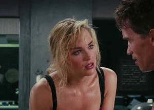 Sharon Stone from the original Total Recall movie
