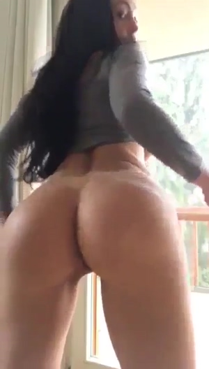 Amazing Ass With Round Fake Tits