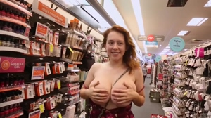 Kelsey Berneray - Enormous Tits out in public
