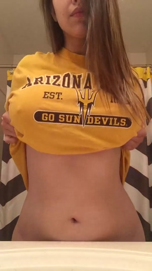 College girl reveal