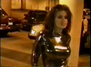 Carmen Electra was so desperate for attention she held a photoshoot in the middle of a parking garage
