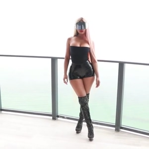 Nicki Minaj as a sexy um...cyborg whore