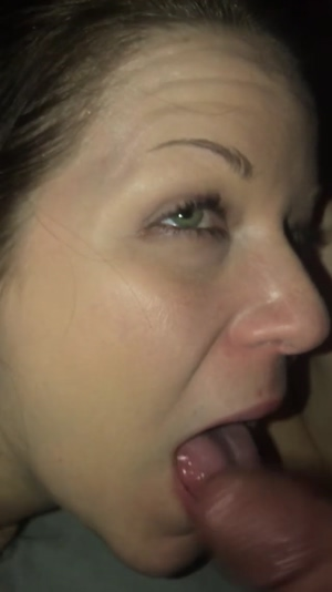 Cock slapping my sexy little wife turns her on...