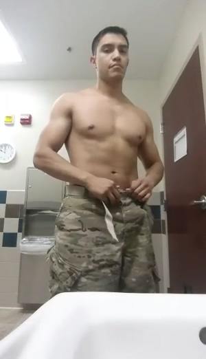 Army hunk strips
