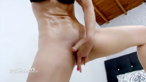 Big squirt by camgirl