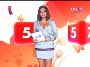plot on Russian TV