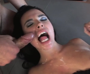 Fucked, Facial and still fucked - GIF by