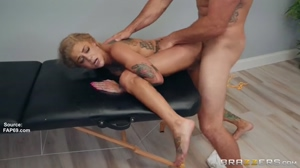 A Massage For Bonnie Rotten -