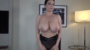 Ewa Sonnet And Her Huge Boobs