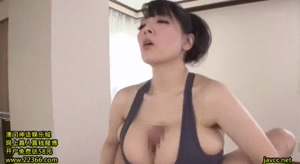 Hitomi finishing him off with just her tits