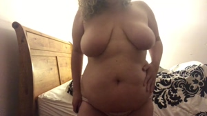 BBW - big bellied woman😜