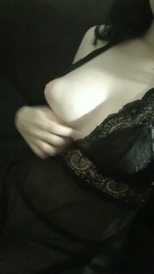 Tits In A Black Lace <3