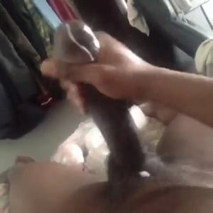 Giant dick cumming