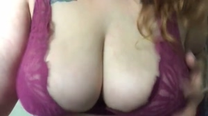 Bouncing my boobs