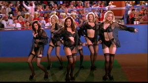 Cheerleaders from the movie: BASEketball