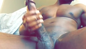 Lubed Black Cock