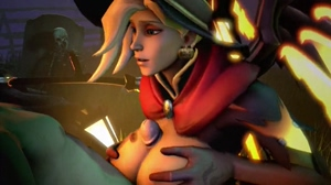 Mercy titty fuck