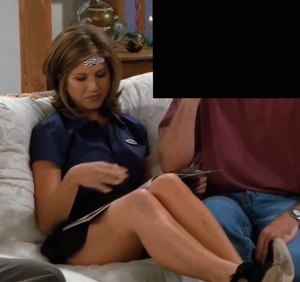 Jennifer Aniston and her legs on Friends