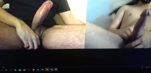 I love making my slaves bi and force them to jerk off together for me! More fun on our kinky forced bi and cuckolding Discord server!
