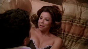 would love to be on top of Eva Longoria with her legs wrapped around me