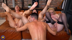 Three Sluts - Putting His Finger In All The Pies!