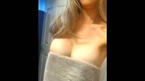 ing Perky Tits Underneath her Towel