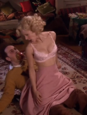 Kristen Bell riding plot in Reefer Madness: The Movie Musical