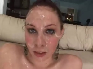 Gianna Michaels Rubbing Her Facial Into Her Tits