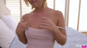 White tank top reveal