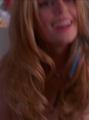 Diora Baird and her perfect pair in Hot Tamale
