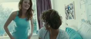 Amy Wren's Delightful Reaction After Flashing Her Perky Boobs