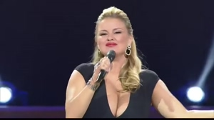 Lets jerk off to Russian singer with huge tits Anna Semenovich