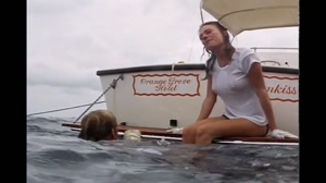 Jacqueline Bisset's wet t-shirt in The Deep
