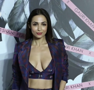 Malaika Arora's Wide Open Boobs, Pasties Visible