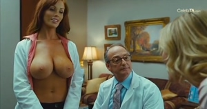 Christine Smith shows off her great ghosts to Cameron Diaz in Bad Teacher