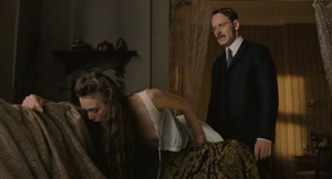 Keira Knightley spanked topless in A Dangerous Method