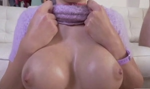 Big tits happy plastered whore