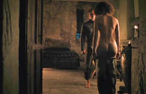 Nathalie Emmanuel getting naked. Her tits are fucking amazing and her round butt is so perfect!