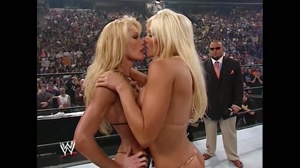 Torrie Wilson never turned down a storyline opportunity to kiss another woman