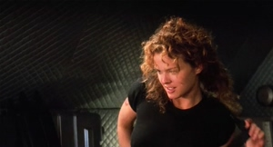 Dina Meyer in Starship Troopers
